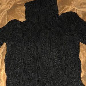 Express black turtleneck sweater